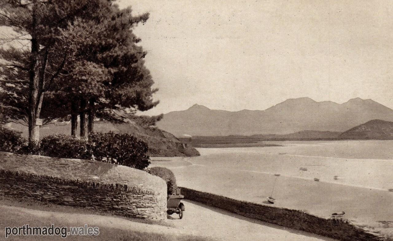 Postcard of Morfa Bychan