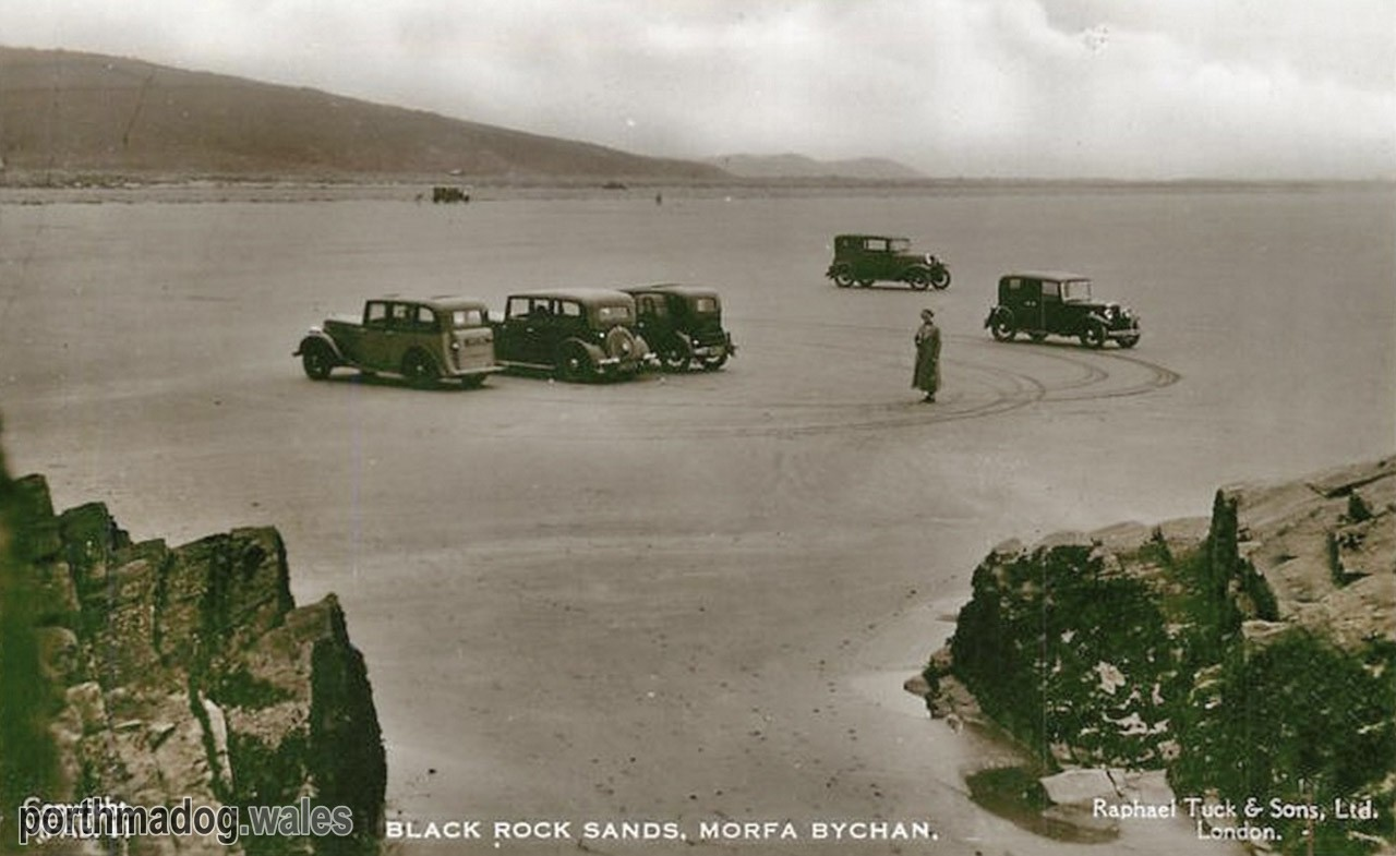 Postcard of Black Rock Sands, Morfa Bychan