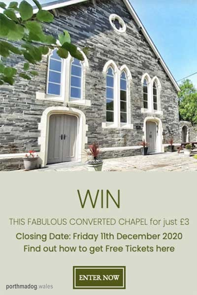Win a Dream Property in Abergynolwyn, Wales