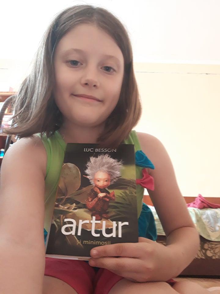 Artur și minimoșii - Seria Artur #1 - Luc Besson -  Amira