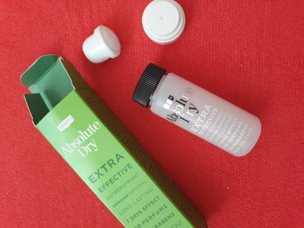 antiperspirant active dry