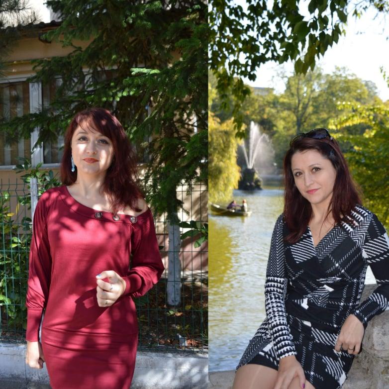 2 rochii casual de toamnă care îmi plac