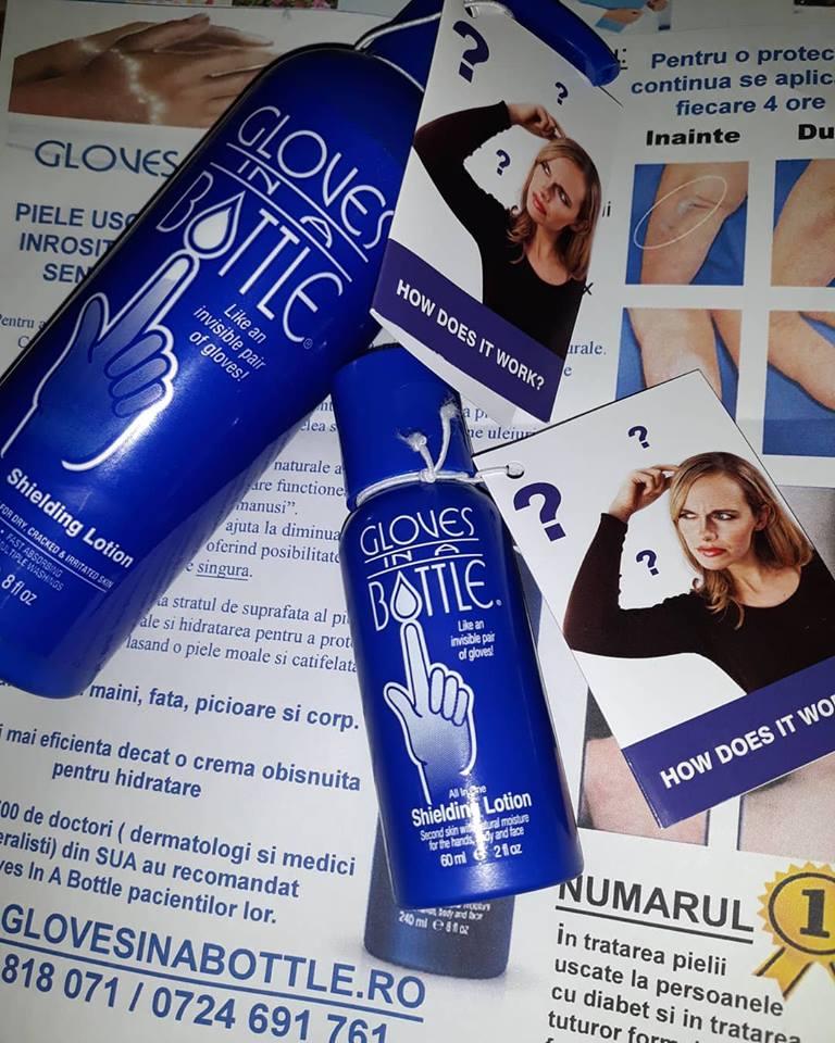 Gloves in a bottle - pentru piele răsfățată