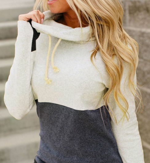 pulover pufos Dresslily