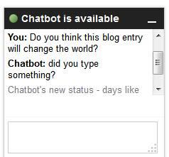 Awkward Chatbot