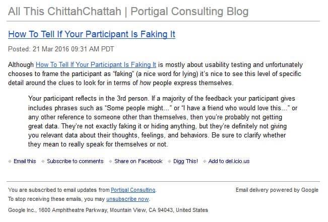 Blog | Portigal Consulting
