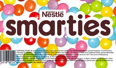 Research Report Re-released – Smarties taste test   Portigal