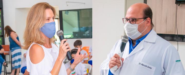 Médicos conversam com o Portinari sobre a pandemia e a retomada às aulas