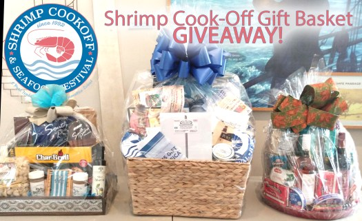 2020 Shrimp Cook-Off gift basket giveaway