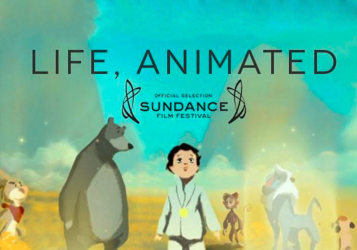 life animated documentary film poster