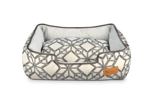 Solstice Lounge Bed Silver