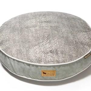 Savannah Round Dog Bed Light Gray