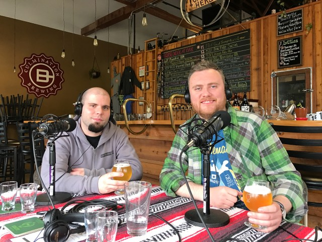 Two Flowers Dinner A Celebration of Hops and Hemp Coalition Brewing EastBurn Public House - Portland Beer Podcast Episode 35