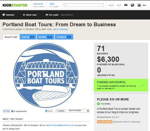 Our Kickstarter Project