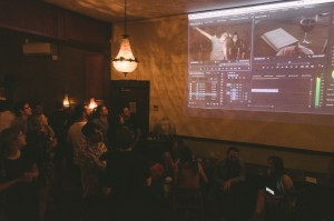 The Crowd watching Live Dance Film Editing