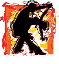 Salsa Sketch for Salsa Dancing Style
