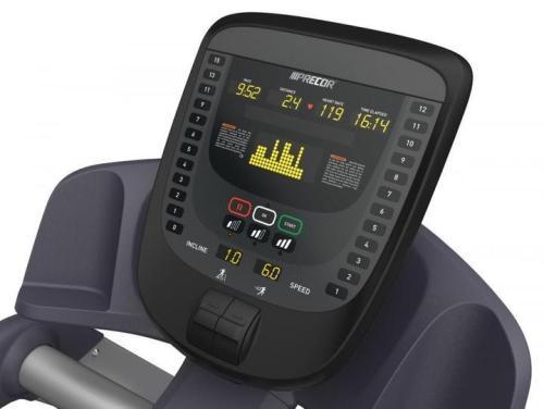 Precor TRM731 Interval Treadmill Console