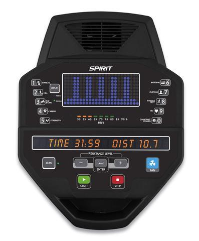 Spirit CE800 Elliptical Console