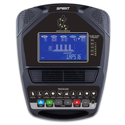 Spirit MS300 Recumbent Stepper Console
