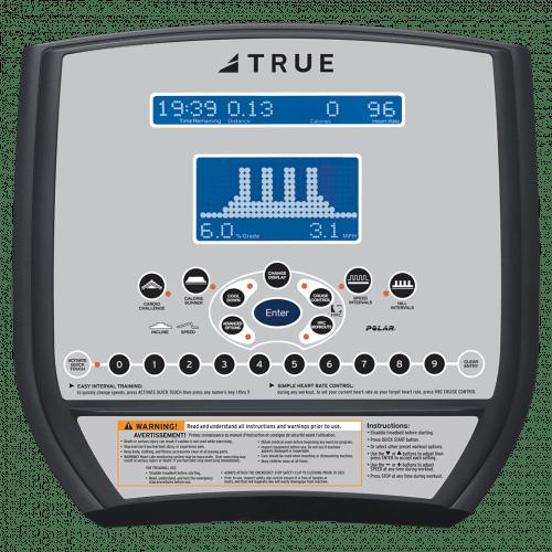 TRUE CS200 Recumbent Bike Console