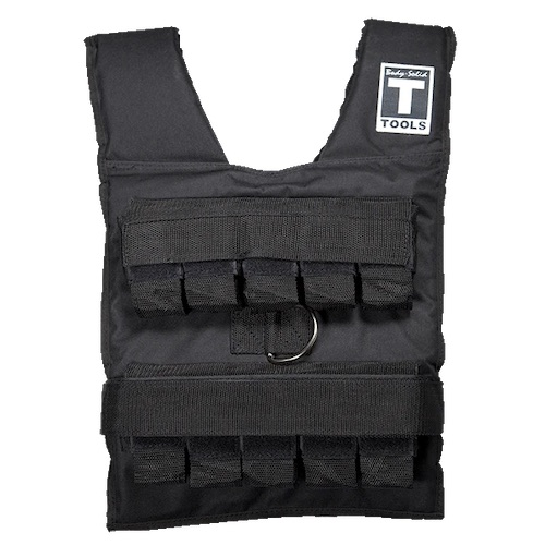 Body Solid Adjustable Weighted Vest