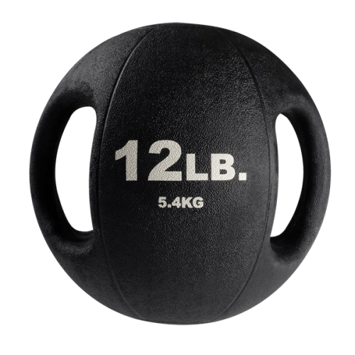 Body-Solid Dual Grip Medicine Balls 12 lbs