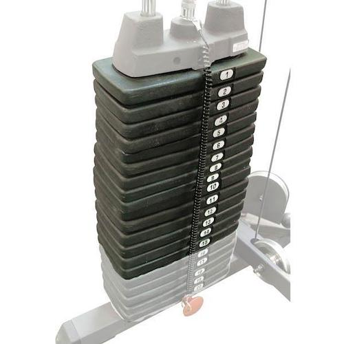 150 Pound Selectorized Weight Stack