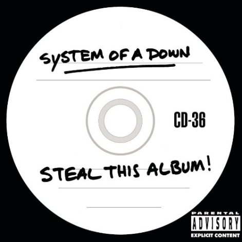 On this System of a Down album is the song A.D.D. (American Dream Denial), which contains the rhyme: There is no flag that is large enough To hide the shame of a man in cuffs