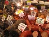 Granville Island Market Vancouver BC Sausage