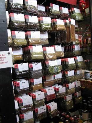 Granville Island Market Vancouver BC Spices