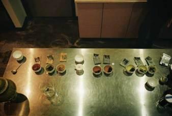 Smith Teamaker - tasting table