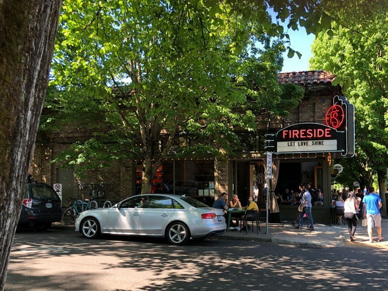 the fireside portland food and drink