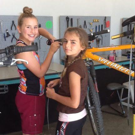 girls mtn bk camp