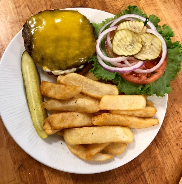 national burger day Chuck's