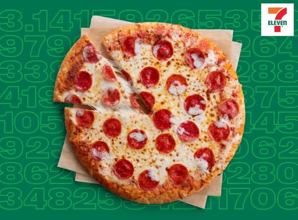 Pi Day 7 Eleven stores