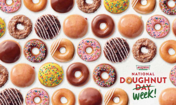krispy kreme national doughnut day