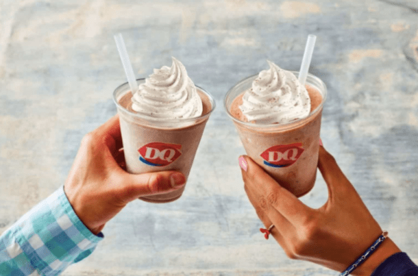 Dairy Queen Buy One Get One Free Shakes