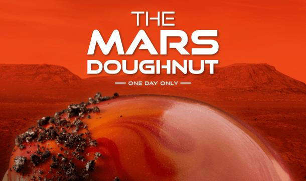nasa mars doughnut krispy kreme