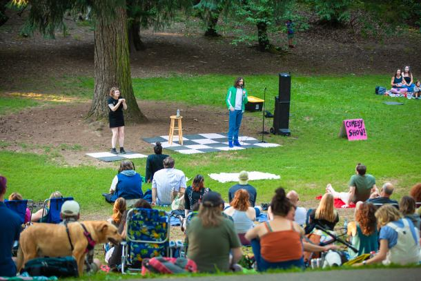 Free Comedy in the Park