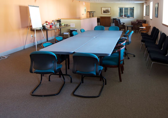 Conference Room This versatile space can serve as a convenient meeting location for individual, private, or group functions (scheduled as available). Car related events are also held here.