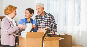 oregon city moving company family packing