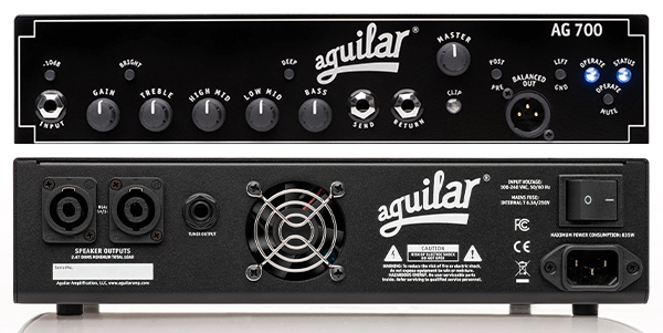 Aguilar AG 700 Super Light Head