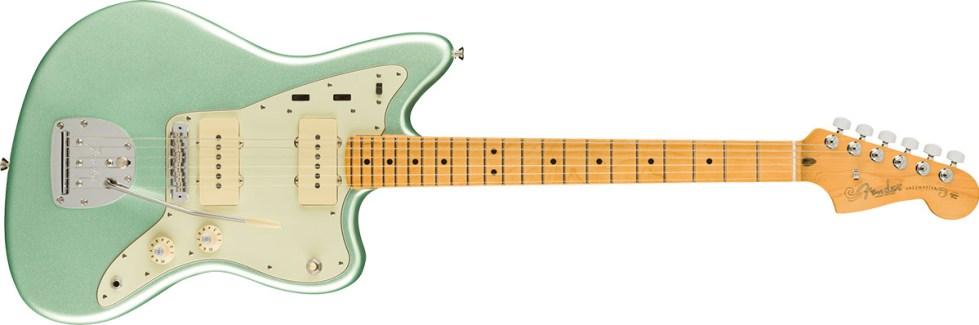 American Professional II Jazzmaster®, Maple Fingerboard, Mystic Surf Green
