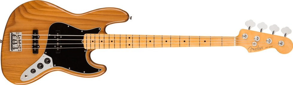 American Professional II Jazz Bass®, Maple Fingerboard, Roasted Pine