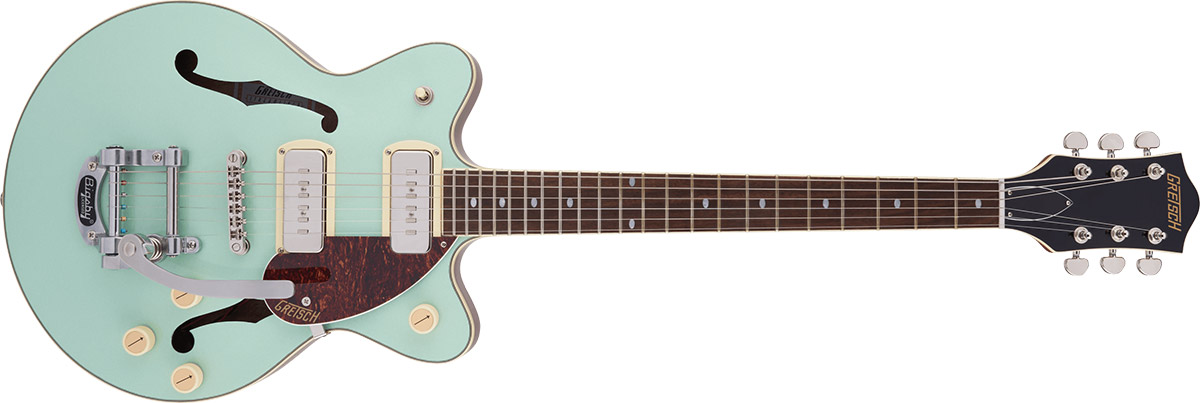 Gretsch G2655T-P90 Streamliner™ Center Block Jr. Double-Cut P90 with Bigsby®