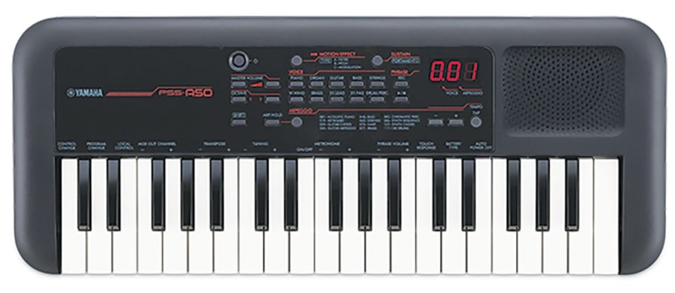 Yamaha  PSS-A50, portable Keyboard
