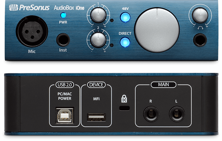 Presonus iONe, USB audio interface