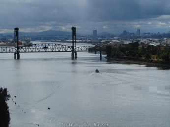 View of Downtown Portland from the St. Johns Bridge. I had to use the zoom lens on this one.