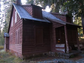 This is one of a number of cabins, bunch houses and shop that make up this historic WPA work camp.
