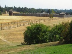 View of HBC Fort Vancouver